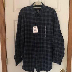 NWT men's, Large flannel shirt